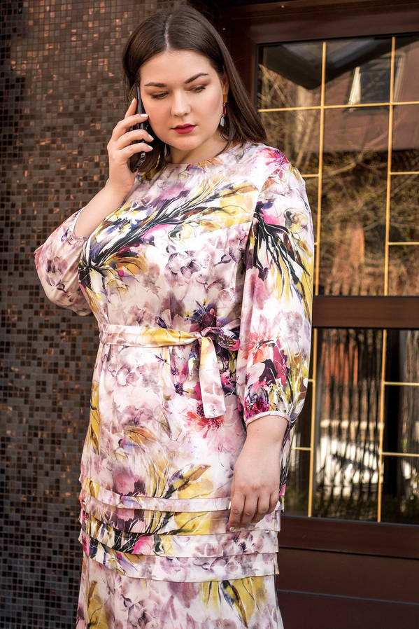 Платье 20-o111-1-66#/0548